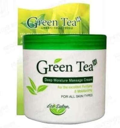 kem massage green tea